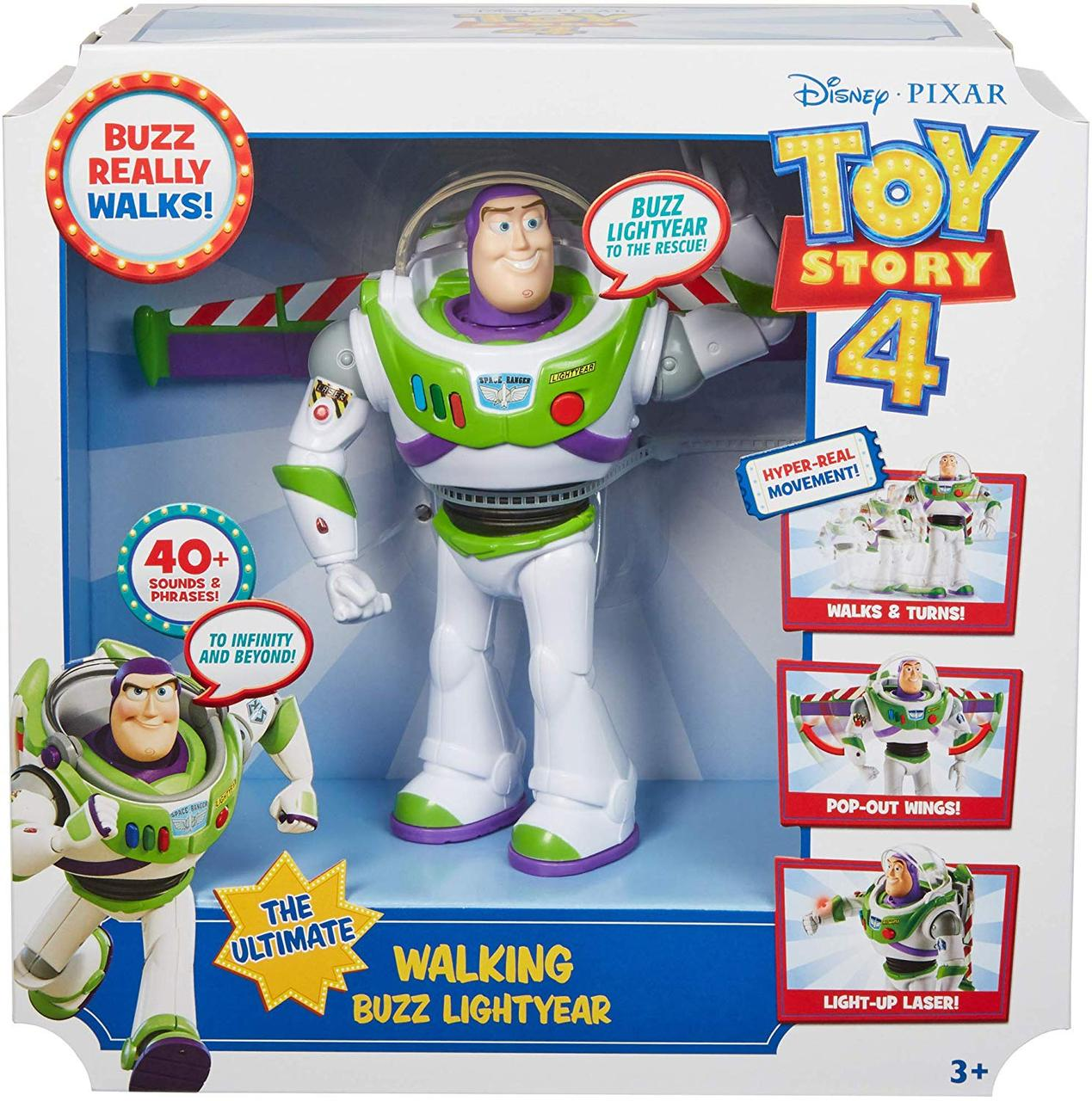 История Игрушек 4: Интерактивный Базз Лайтер (Toy Story Ultimate Walking Buzz Lightyear)