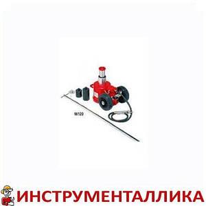 Домкрат подкатной пневмо гидравлический 30т 15т 120 ОМА