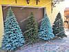 Литая елка Елитная 2.10м. голубая (Бесплатная курьерская доставка), фото 5