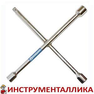 Ключ балонный крестовой 17мм x 19мм x 21мм x 1/2 KBK1 Стандарт
