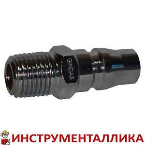 Быстроразъемное соединение папа с наружной резьбой 1/4 тип Nitto 20PM Sumake