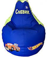 Кресло мешок груша пуф бескаркасная мебель мягкая, фото 1