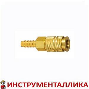 Быстроразъемное соединение мама - елочка на шланг 6 мм EC20H Sumake