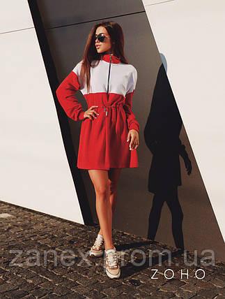 Платье Zanex ''Люки'', красное, фото 2