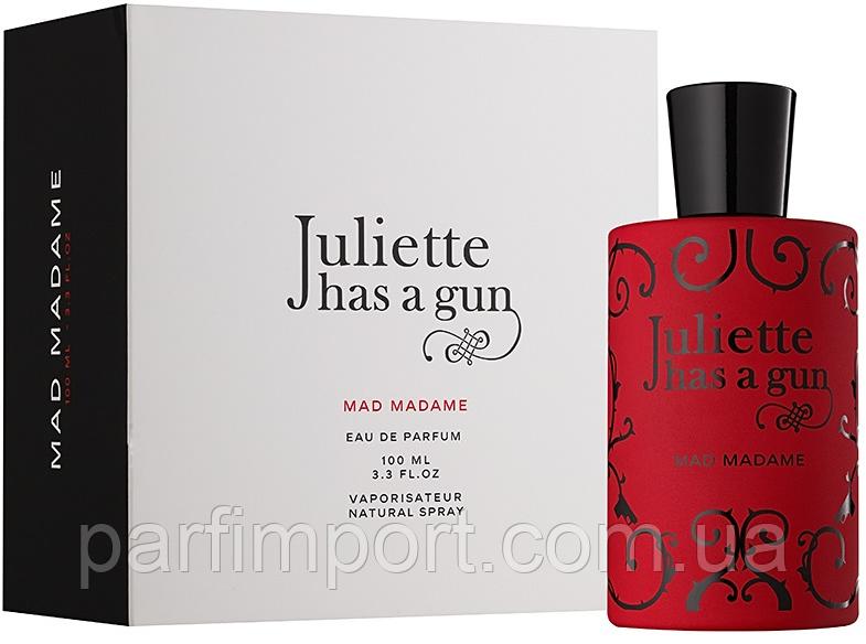 JULIETTE HAS A GUN MAD MADAME EDP 100 ml  парфюмированная вода женская (оригинал подлинник  )
