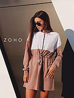 Платье Zanex ''Люки'', кофейное
