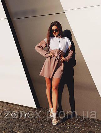 Платье Zanex ''Люки'', кофейное, фото 2