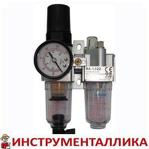 Минифильтр воздушный с регулятором и лубрикатором 1/4 SA-1122 Sumake