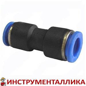 Соединитель для пластиковых трубок переходной 10 мм - 8 мм PG 1008 Sumake