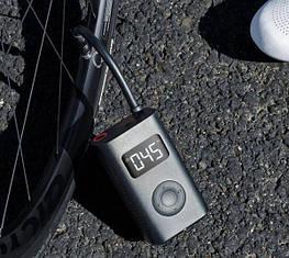 Насос электрический Xiaomi MiJia bicycle car Electric Pump (MJCQВ01QJ)