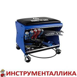Стул для слесаря (без инструментов) 87452B-B King Tony