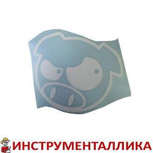 Наклейка Злая свинья 15 х 13см