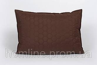 Наволочка Lotus Broadway Comb коричневый 50*70 см