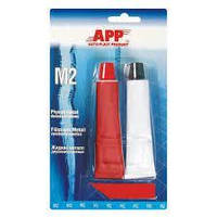 Клей епоксидний для склеювання металу APP M-2 2 х 20 гр.