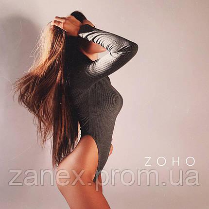 Женское боди серое Zanex, фото 2