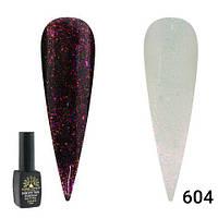 Гель-лак Global Fashion Shine Spectrum Galaxy Star алмазный № 604, 8 мл