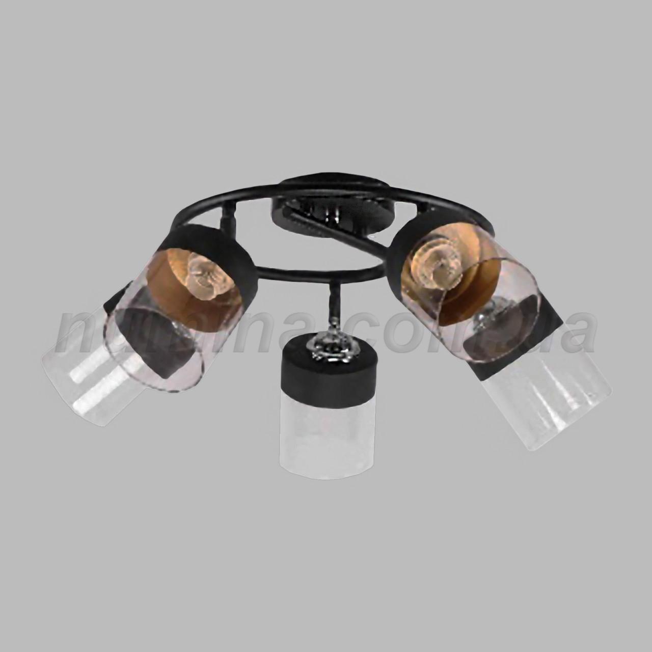 Люстра потолочная на пять ламп 06-51469/5A CR+BK