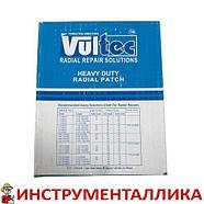 Пластырь радиальный Vultec RD-135, 125х150мм (желтый), фото 4