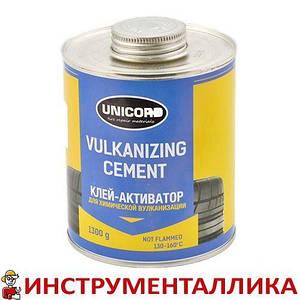 Клей для ремонта камер и шин банка с кистью Cement 1300 г Unicord