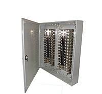 Пластмассовая распределительная коробка на 300 пар, с задвижкой (аналог KRONECTION-Box IV), IP30