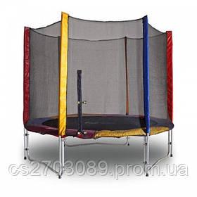 Батут KIDIGO 244 см с защитной сеткой (hub_Mawe26322)