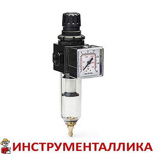 """Воздушный фильтр с регулятором давления 1/4"""" 1200 л/мин AH116302 Ani"""