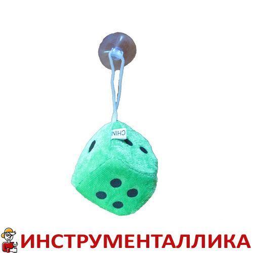 Игрушка Кубик на присоске 4,5см зеленый