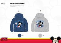Толстовки для мальчиков с начёсом оптом, Disney. размеры 92/98-110/116 см, арт. MIC-G-T-JOGTOP-109