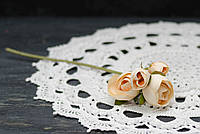 Ветка цветков ранункулуса премиум. беж, фото 1