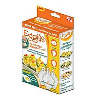 Яйцеварка - формы для варки яиц без скорлупы Eggies 130251