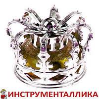 Ароматизатор Корона BONA серебро желтый гель