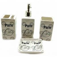 Набор аксессуаров для ванной комнаты Париж