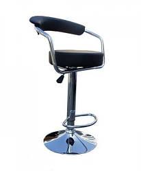 Кресло визажное с подножкой, высокий барный стул Marsel