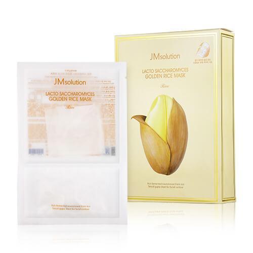 JMsolution Lacto Saccharomyces Golden Rice Mask Тканевая маска с экстрактом риса