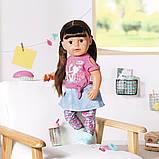 Кукла Zapf Baby Born Нежные объятия Стильная сестренка с аксессуарами 43 см (827185), фото 3