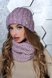 Вязаные комплекты (шарф, снуд, хомут, шапка, перчатки)