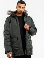 Оригинальная зимняя мужская куртка Adidas XPLORIC PARKA KHAKI (DZ1432)
