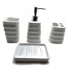 Керамический набор аксессуаров для интерьера ванной комнаты