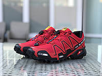 Мужские кроссовки Salomon, красные