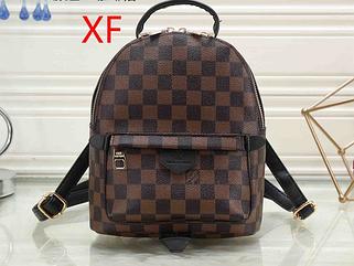 Рюкзак среднего размера реплика реплика Louis Vuitton | луи виттон | lv лв (0553) квадрат коричневый