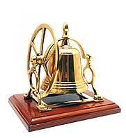 Колокольчик бронзовый настольный 18х16,5х12,5см
