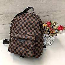 Большой рюкзак реплика Louis Vuitton   портфель луи виттон   lv лв арт.0549 квадрат Коричневый