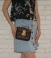 Сумка в стиле Louis Vuitton на цепочке Красный, фото 2
