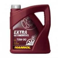 Трансмиссионное масло синтетическое Mannol EXTRA GETRIEBEOEL SAE 75W90 4л