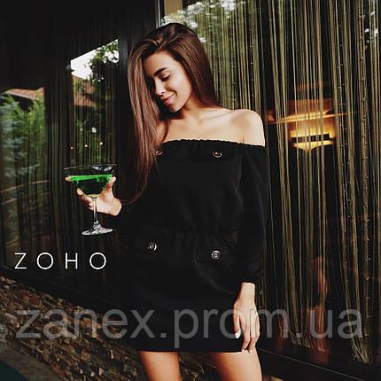 Платье Zanex «Прао», черное, фото 2