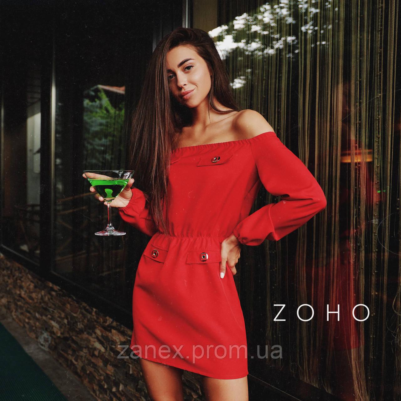 Платье Zanex «Прао», красное