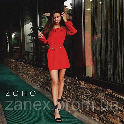 Платье Zanex «Прао», красное, фото 2