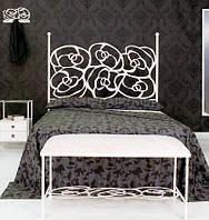 Кровать металлическая двуспальная Rosa.