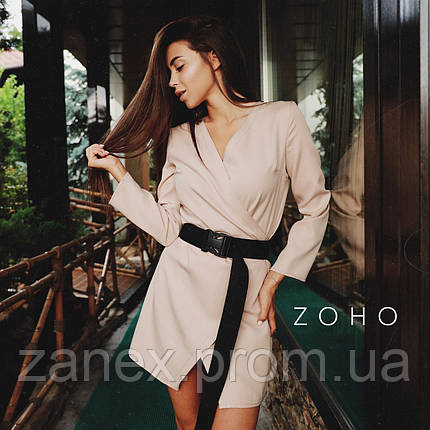 Платье Zanex «Кико», бежевое, фото 2