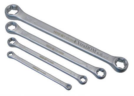 Набір накидних ключів ТОRХ Е6-Е24 4шт. YATO YT-0530, фото 2